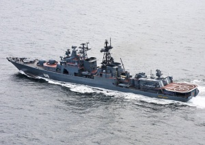 Russian warship Severomorsk continues anti-piracy patrol