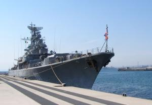 Frigate Ladny Called at Spanish Port Ceuta