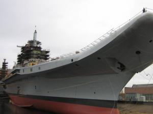 Aircraft-Related Facilities of INS Vikramaditya Almost Ready