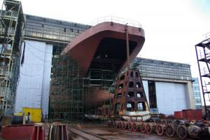 Yantar shipyard to complete landing ship Ivan Gren in 2012