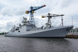 Russian-Built Frigate INS Teg Prepares to Join Indian Navy
