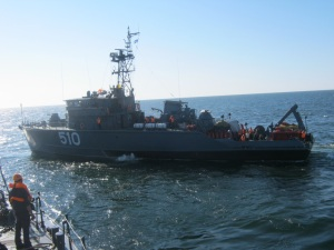 Baltic Fleet ships prepare for Open Spirit 2011 exercise