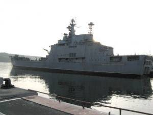 Russia Sells Largest Landing Ship for Scrap