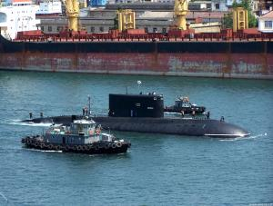 Diesel Sub Alrosa Returns to Black Sea after Overhaul