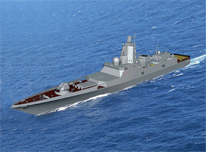 Russian Navy to get Project 22350 frigate Admiral Gorshkov in 2011