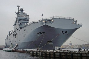 First Mistral Laid Down at Baltiysky Zavod Shipyard