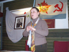 New Ladoga. Conference dedicated to the centenary of V.S. Cherokov. N.F. Morozova, museum's senior officer