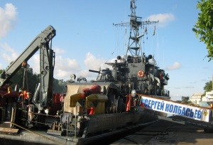 Baltic Fleet task unit sailed off to attend Open Spirit 2011