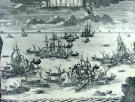 . Zubov. Naval Battle at Grengam on July 27, 1720