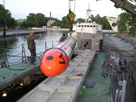 Dummy torpedo, unloading from torpedo weapons retreiver