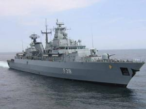 German Frigate to Visit St. Petersburg