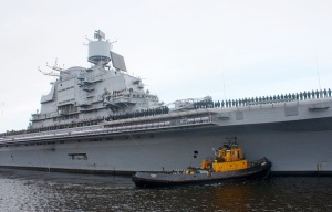 Russia to Deliver Aircraft Carrier to India in Fourth Quarter of 2013