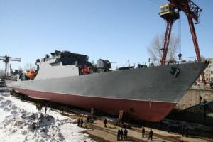 Missile ship Dagestan was launched in Zelenodolsk