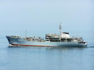 Black Sea Fleet Floating Workshop Heads for Tartus