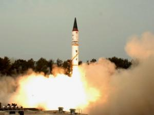India to test a submarine-based ballistic missile