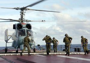 Northern Fleet Marines to Attend Anti-Piracy Mission