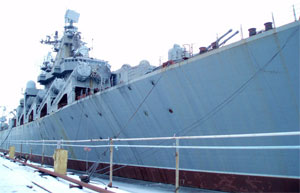 Russia won't buy uncompleted cruiser from Ukraine