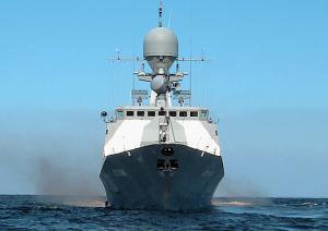 Caspian Flotilla Holds Exercise