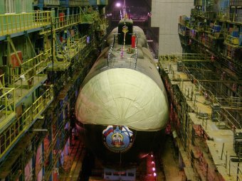 Navy CinC Promised to Finish Building of Kursk-Class Submarine