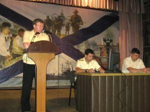 Baltic Fleet command talked on ships serviceability with Yantar Shipyard