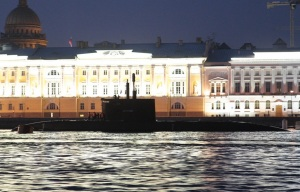 Submarine St. Petersburg to Serve and Pass Trials at Northern Fleet