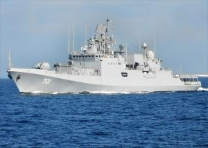 Russia Completes Trials of First Indian Frigate
