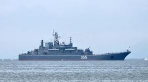 Pacific Fleet Ships Head for Kuril Islands