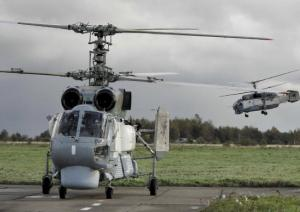 Baltic Fleet Held Flight Drills