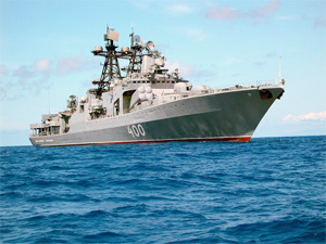 Fire at Vice Admiral Kulakov did no harm to the ship's battle-worthiness