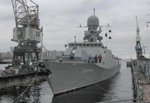 Caspian Flotilla to Receive Corvette Makhachkala in 2012