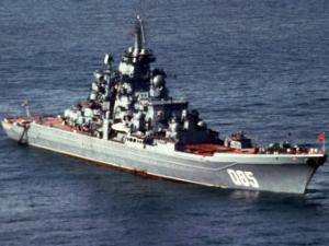Russian Navy modernizes nuclear-powered cruiser Admiral Nakhimov