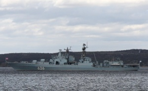 Large ASW ship Vice Admiral Kulakov returned to homebase