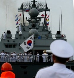 South Korean Naval Cadets Arrived in Vladivostok