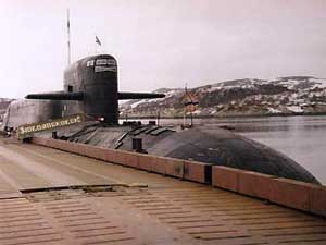 Repairs and upgrade of SSBN Novomoskovsk is in progress