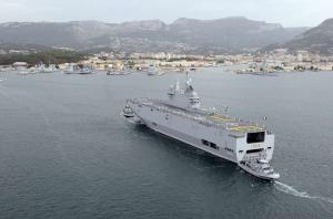 France Transfers Mistral Technology to Russia Ahead of Schedule