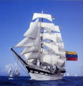 Crew of Simon Bolivar strives to reach St. Petersburg