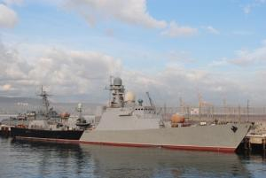 Caspian Flotilla Commissions New Corvette