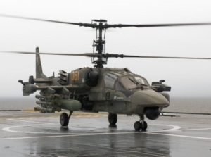 Ka-52K helicopters to be equipped with Zhuk-AE radars