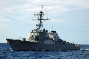 US Navy's Warship Visits Vladivostok Again