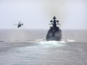 Pacific Fleet conducts qualification drills in the Sea of Japan