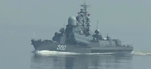 Baltic Fleet ships sailed off to practice firing