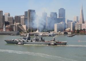 Pacific Fleet flagship prepares for long-range cruise