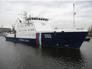 Russian coast guard to hoist flag on new patrol craft