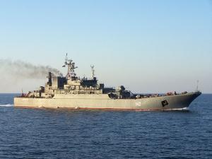 Landing Ship Novocherkassk Left Trabzon, Turkey