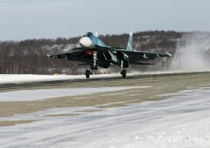 Northern Fleet Reconstructs Airfield
