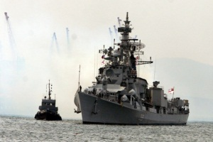 Indian warships pay friendly visit to Vladivostok