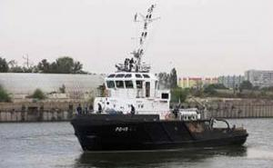 Caspian Flotilla Tests New Harbor Tug RB-10