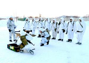 Northern Fleet Marines Finished Field Drill