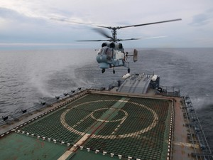 Russian Navy Ordered First Batch of Ka-27M Shipborne Helicopters