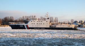 Second Ice-Class Patrol Ship Sets Afloat on Dec 14